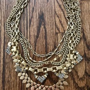 Stella & Dot gold Sutton Necklace